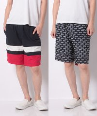 TJM REVERSIBLE SHORT BLACK IRIS / MU