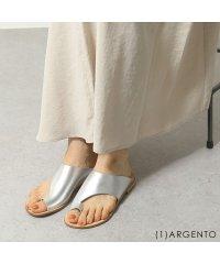 【FABIO RUSCONI(ファビオルスコーニ)】DH30 カラー4色 レザー サボ サンダル ローヒール フラットサンダル 靴 レディース