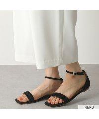 【FABIO RUSCONI(ファビオルスコーニ)】S 4774 カラー3色 スウェードレザー ストラップサンダル ローヒール フラットサンダル 靴 レディース