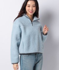 SLOANE SHERPA PULLOVER BABY BLUE
