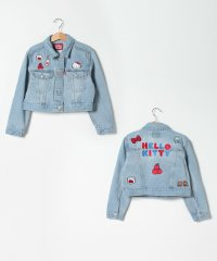【KIDS】Hello Kitty Trucker Jacket Hun
