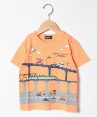 乗り物大集合半袖Tシャツ