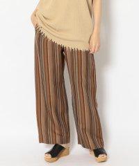 Johnbull(ジョンブル) linen stripe easy pants /リネンストライプイージーパンツ