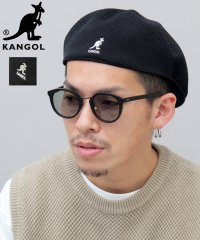 【KANGOL/カンゴール】メッシュハンチングベレー/504/TROPIC VENTAIR/ベレー帽