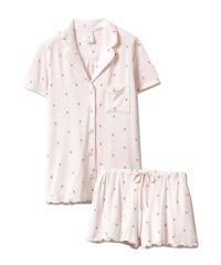 【セットアップ】イチゴモチーフシャツ&ショートパンツSET