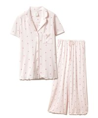 【セットアップ】イチゴモチーフシャツ&ロングパンツSET