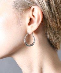 【YArKA/ヤーカ】silver925 twist design pole pierce/ツイストデザインピアス シルバー925