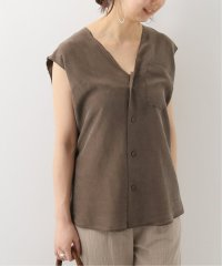 【GABRIELA COLL GARMENTS】SILK SLEEVELESS ブラウス