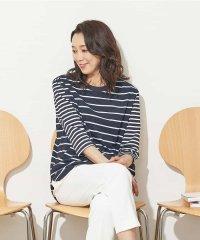 【コットン100%】オーバーサイズボーダーTシャツ