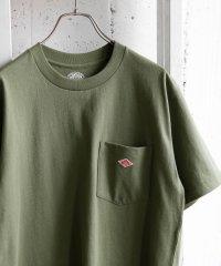 【5/29新入荷】DANTON クルーネック半袖ポケットTシャツ