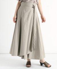 [RADIATE] 【手洗い可】フレアラップスカート