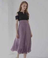 Grace Color Carving Dress