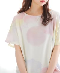 『nOr水彩ニュアンスドットTシャツ』