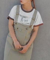 シロクマフォトリンガーTシャツ