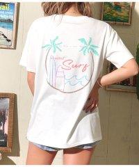 サーフプリントTシャツ