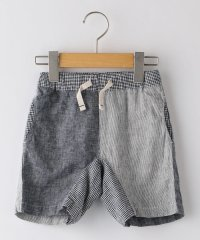 SHIPS KIDS:綿麻 クレイジーパターン ショーツ(80~90cm)