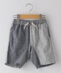 SHIPS KIDS:綿麻 クレイジーパターン ショーツ(100~130cm)