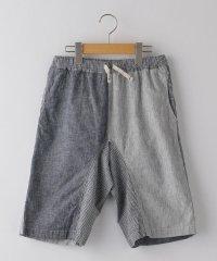 SHIPS KIDS:綿麻 クレイジーパターン ショーツ(145~160cm)