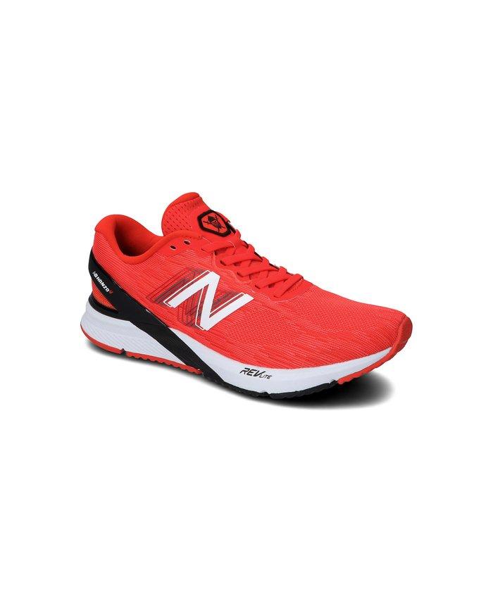 (New Balance/ニューバランス)ニューバランス/メンズ/MHANZUN3D/メンズ RED