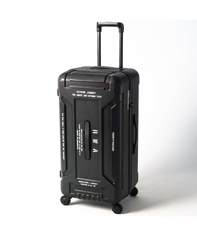 (innovator/イノベーター)【2年保証】RWA スーツケース Lサイズ 88L 縦長 大型 大容量 軽量 アールダブルエー rwa88/ユニセックス ブラック