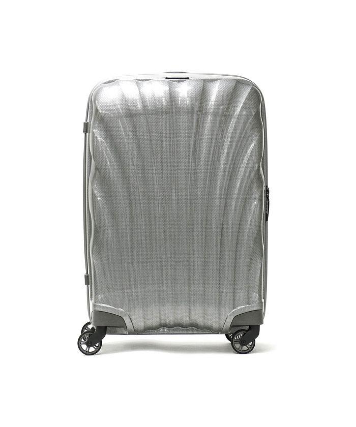 (Samsonite/サムソナイト)【日本正規品】サムソナイト スーツケース Samsonite Cosmolite Spinner 69 TSAロック 68L 5〜6泊 V22−306/ユニセックス シルバー