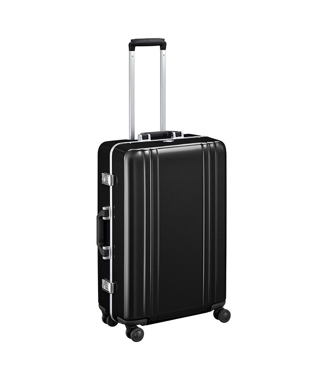 (KABANNOSELECTION/カバンノセレクション)ゼロハリバートン スーツケース 56L Mサイズ ZERO HALLIBURTON Classic Polyca 2.0 エース 8056300/ユニセックス ブラック