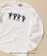 【WEB限定】SHIPS: THE BEATLES ロングスリーブ Tシャツ (ロンT)  503427401
