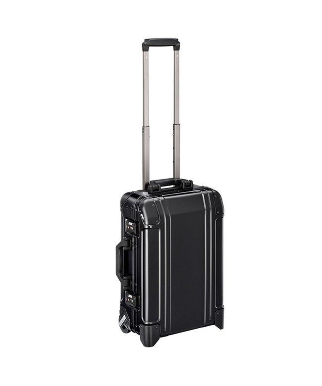 (KABANNOSELECTION/カバンノセレクション)ゼロハリバートン スーツケース 機内持ち込み Sサイズ 31L 二輪 アルミ ZERO HALLIBURTON エース 9425300/ユニセックス ブラック