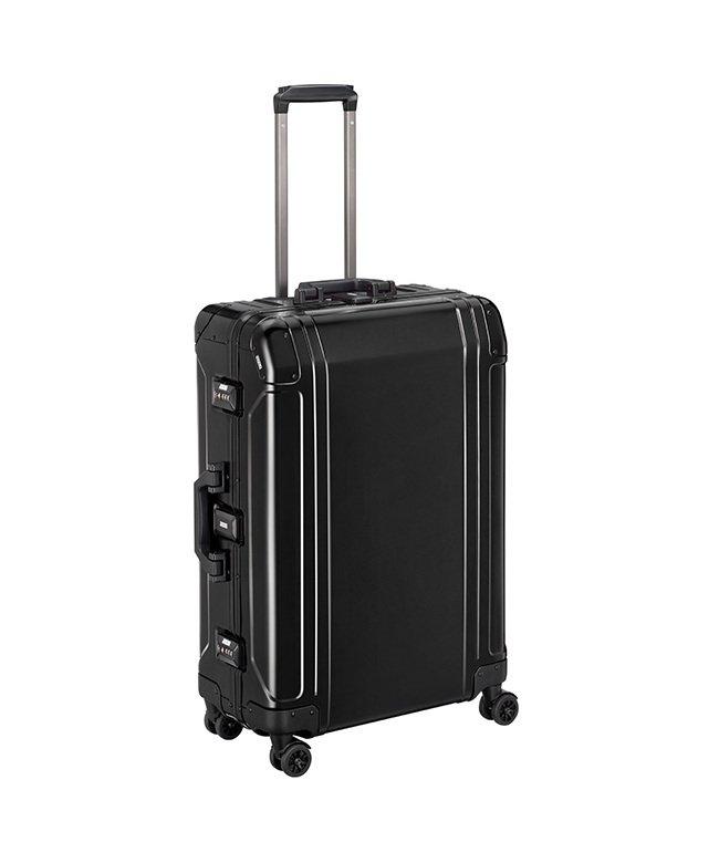 (KABANNOSELECTION/カバンノセレクション)ゼロハリバートン スーツケース Mサイズ 68L アルミ ZERO HALLIBURTON エース 9425700/ユニセックス ブラック