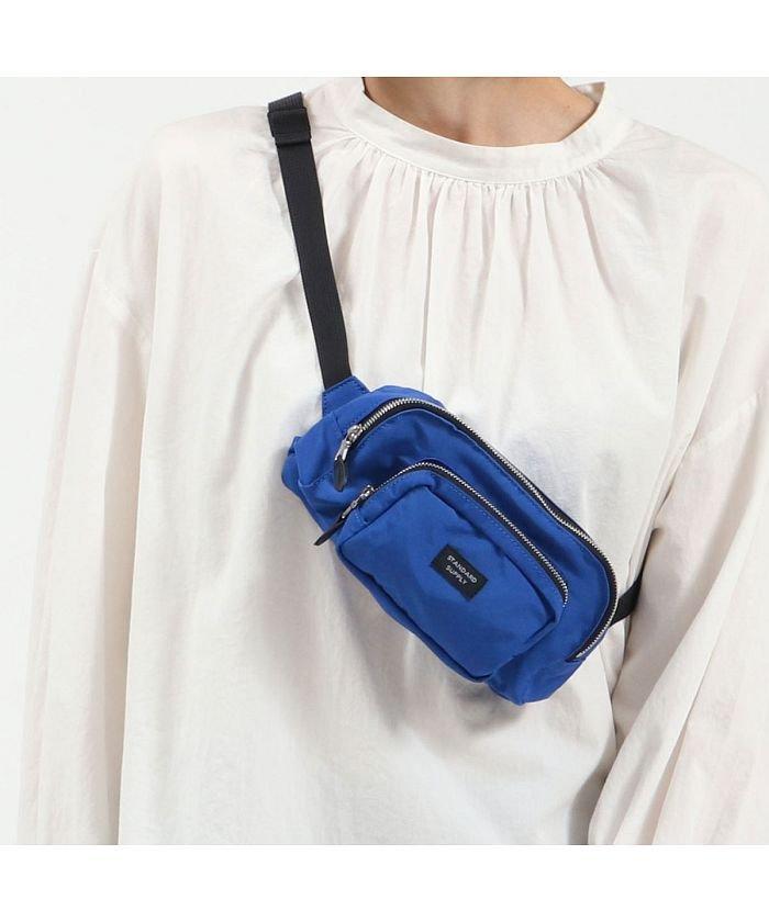 (STANDARD SUPPLY/スタンダードサプライ)スタンダードサプライ ウエストポーチ STANDARD SUPPLY SIMPLICITY WAIST BAG ポーチ ショルダー 斜めがけバッグ 日本製/ユニセックス ブルー