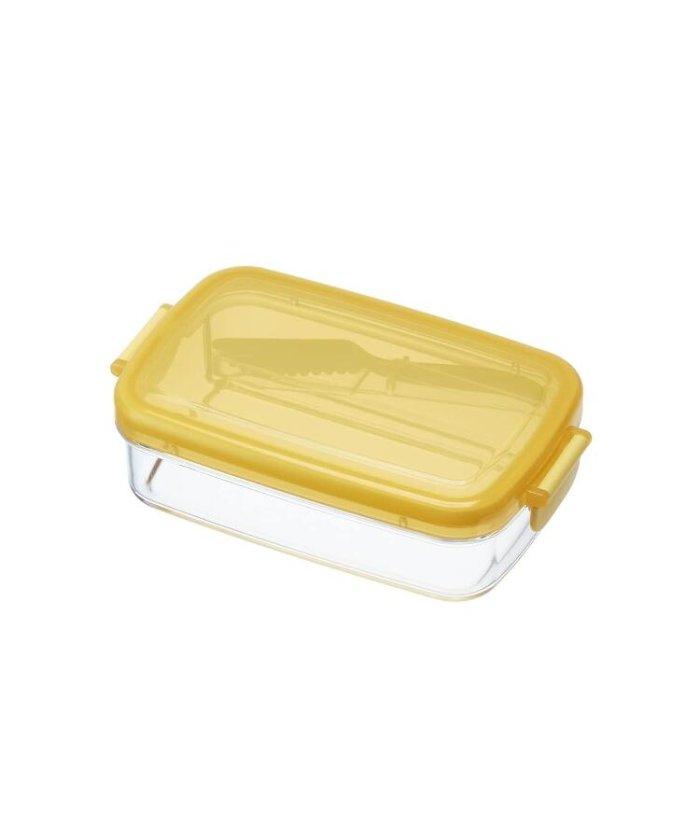 (212KITCHEN STORE/ツーワンツーキッチンストア)ふわふわバターナイフ付き密封バターケース/レディース イエロー(879)