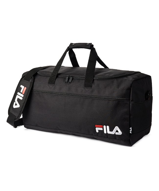 (FILA/フィラ)FILA フィラ ボストンバッグ 50L 修学旅行 林間学校 男子 女子 軽量 かわいい メンズ レディース 2泊/3泊/4泊 7514/ユニセックス ブラック