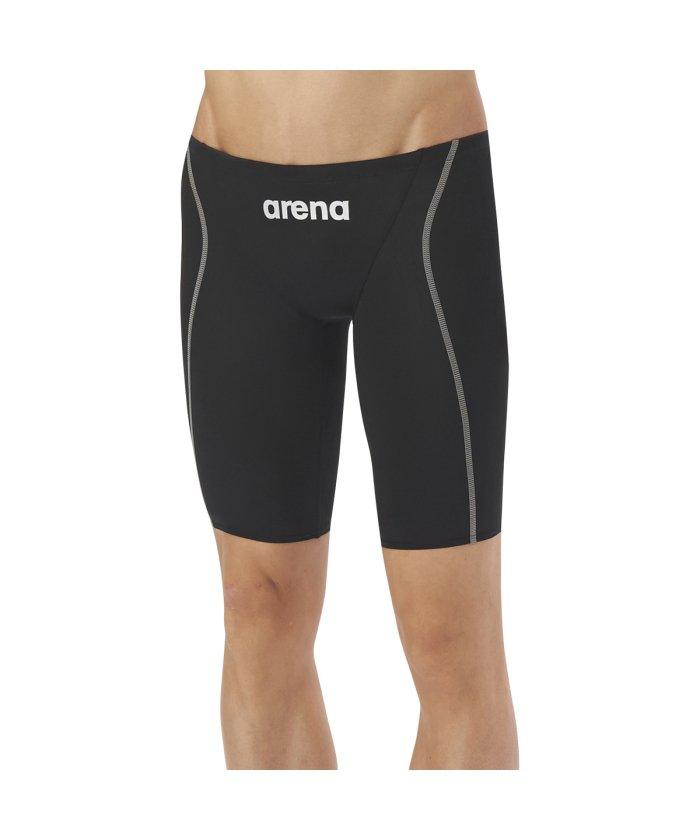 (arena/アリーナ)【FINA承認モデル】【X−PYTHON2】エックスパイソン2 ハーフスパッツ/メンズ ブラック系2