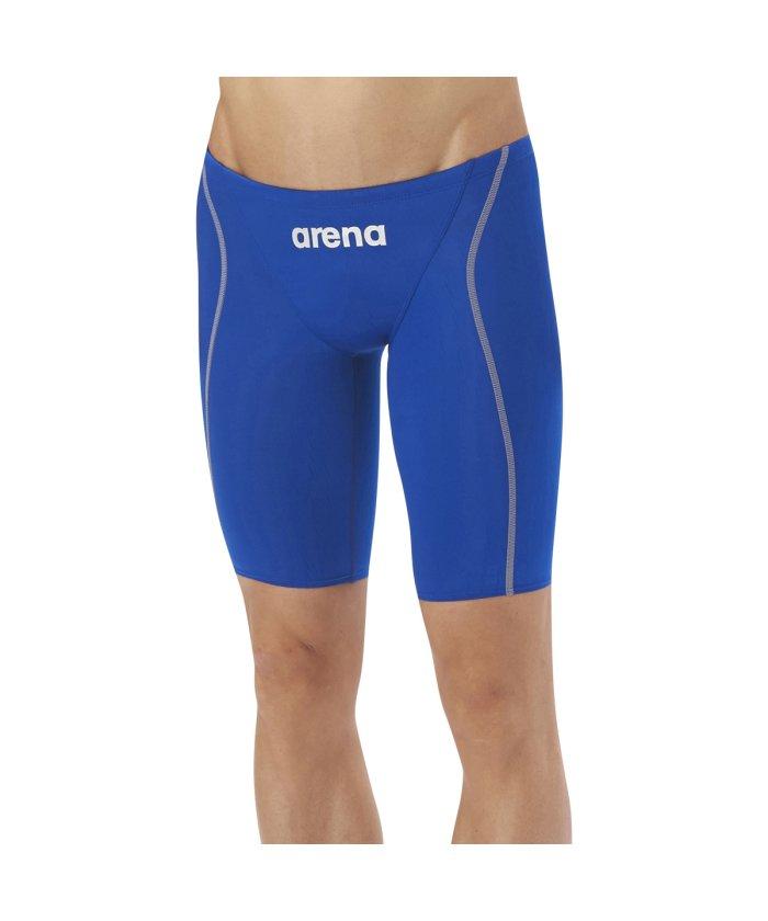 (arena/アリーナ)【FINA承認モデル】【X−PYTHON2】エックスパイソン2 ハーフスパッツ/メンズ ブルー系
