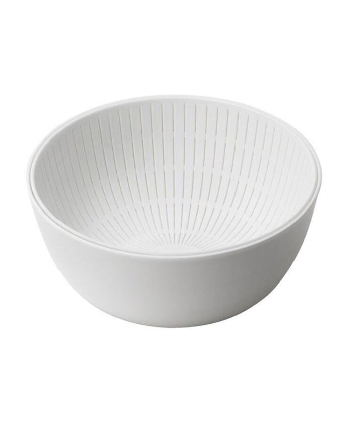 (212KITCHEN STORE/ツーワンツーキッチンストア)like−it (ライクイット) Colander&Bowl 米とぎにも使えるザルボール WH/レディース ホワイト(879)