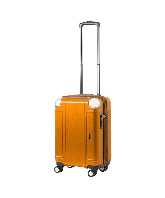 (Z.N.Y/ゼット・エヌ・ワイ)エース スーツケース 機内持ち込み Sサイズ ダイヤルロック 軽量 拡張 34L~41L Z.N.Y 06521/ユニセックス オレンジ