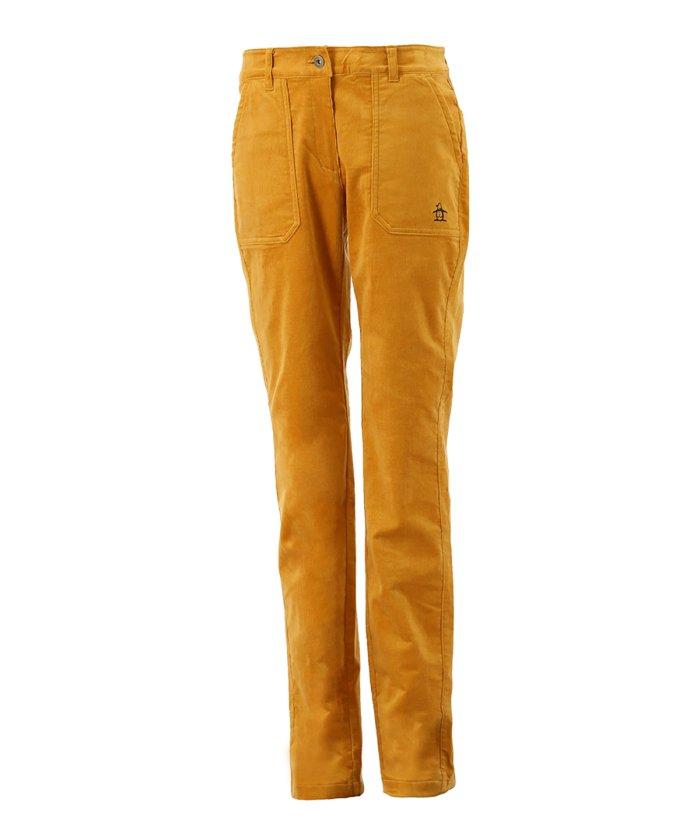 (Munsingwear/マンシングウェア)コーデュロイパンツ/レディース イエロー系