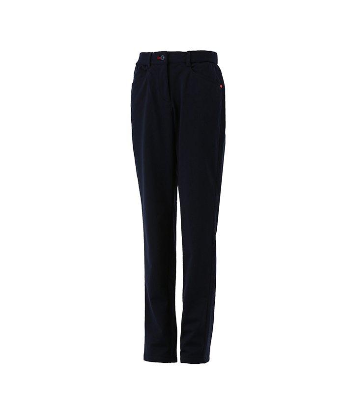(Munsingwear/マンシングウェア)防風裏起毛ボンディングパンツ/レディース ネイビー系