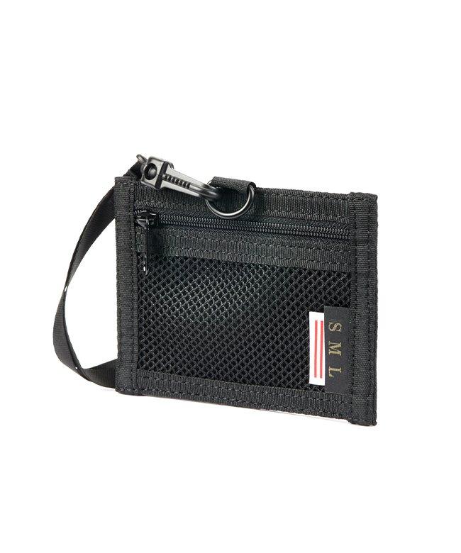 (SML/エスエムエル)エスエムエル IDケース IDホルダー パスケース メンズ 首掛け SML k900239/ユニセックス ブラック