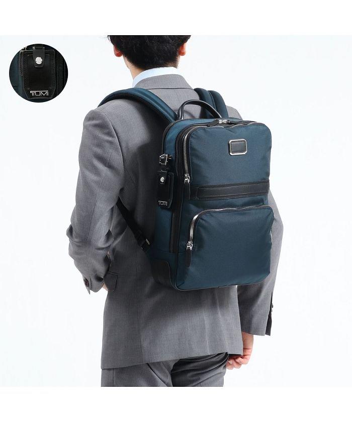 (TUMI/トゥミ)【日本正規品】トゥミ リュック TUMI ビジネスバッグ JARVIS スリム・バックパック Slim Backpack 薄型 通勤 0682404/ユニセックス ネイビー