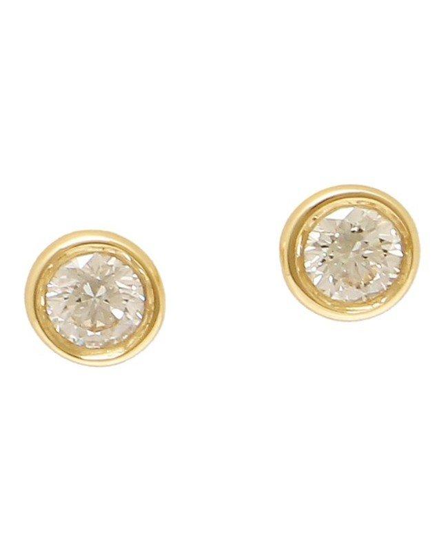 (Tiffany & Co./ティファニー)ティファニー ピアス アクセサリー TIFFANY & Co. 12818653 18K ダイヤモンド バイザヤード 0.10ct 18YG イエローゴールド/レディース その他