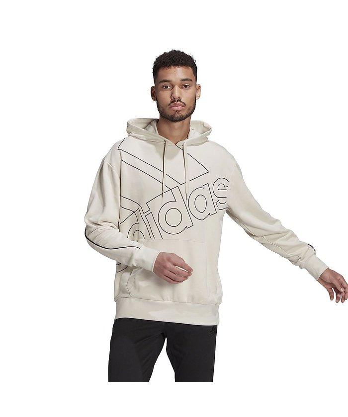 (adidas/アディダス)アディダス/メンズ/ジャイアントロゴパーカー(ジェンダーニュートラル)/ Giant Logo Hoodie (Gender Neutral)/メンズ アルミナ/ブラック