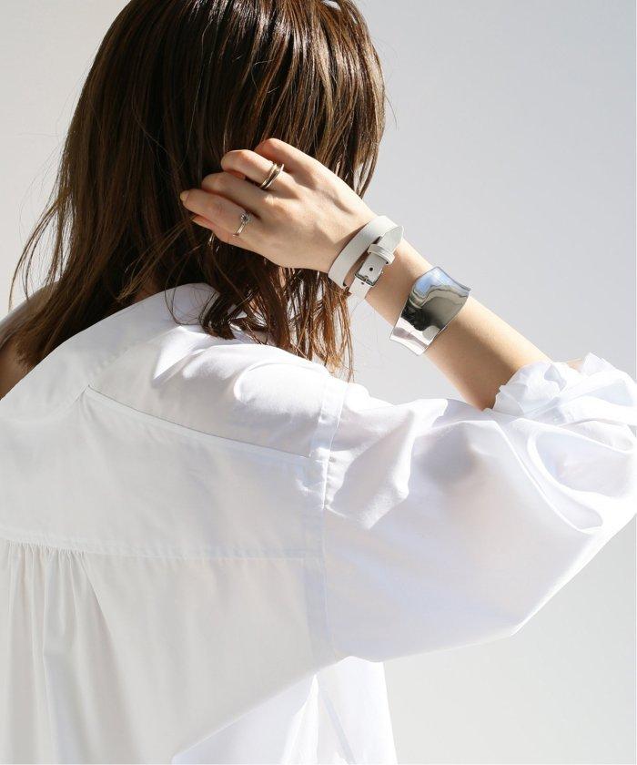 (NOBLE/スピック&スパンノーブル)【MAISON BOINET】 BELT ブレスレット S/レディース ホワイト