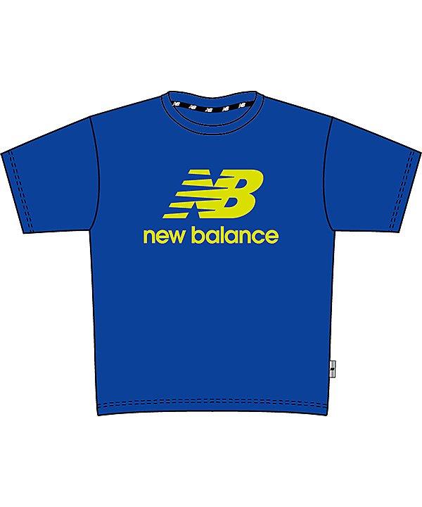 (New Balance/ニューバランス)ニューバランス/キッズ/TENACITY ロゴTシャツ/ コバルト