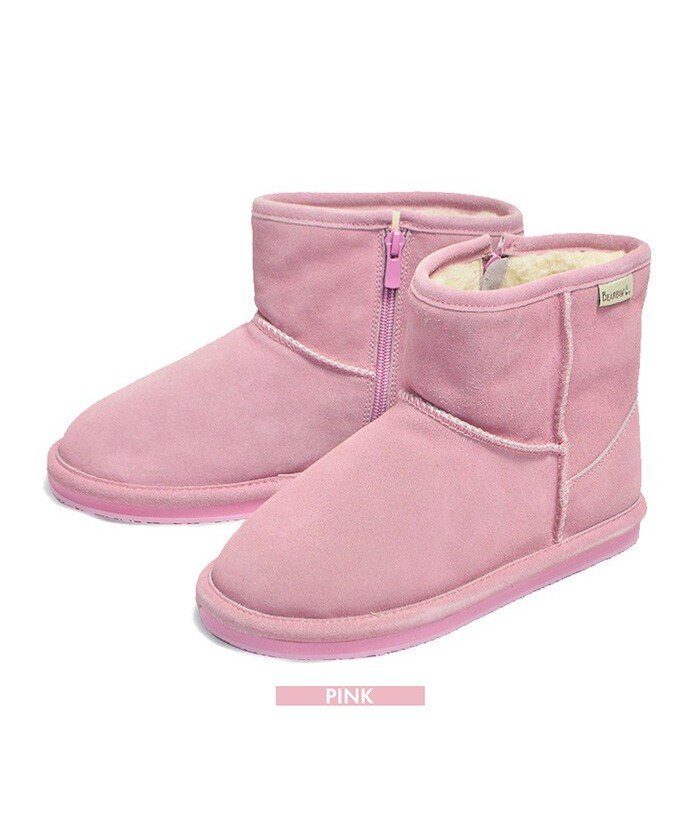 (RM STORE/アールエムストア)BEARPAW DEMI KIDS 619K ≪ ベアパウ デミ キッズ ムートンブーツ ≫ 旅行/キッズ ピンク