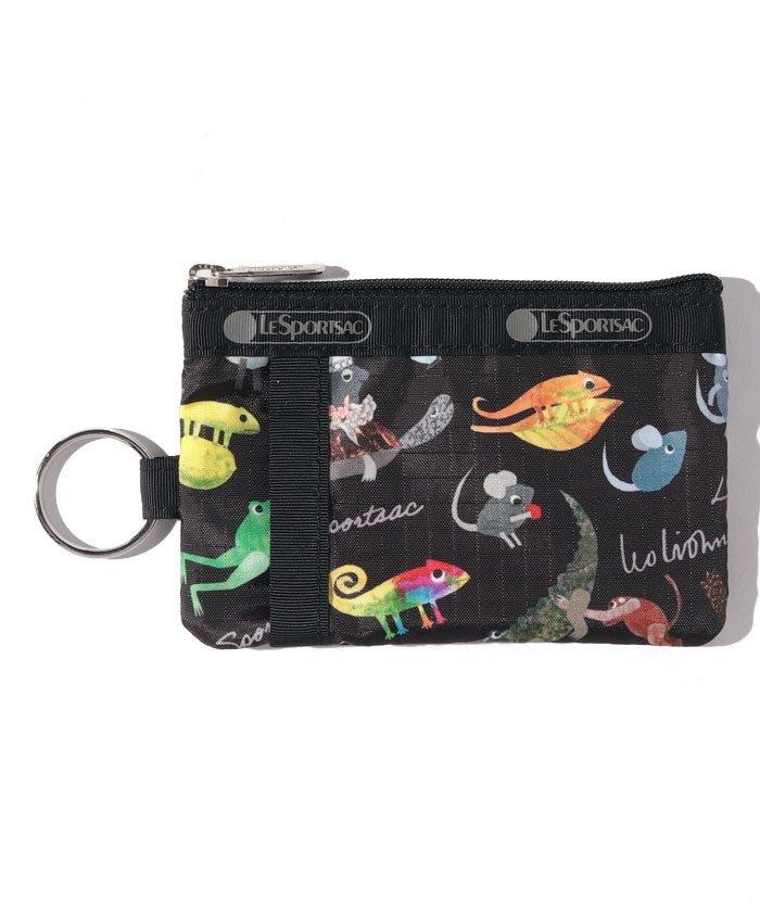 (LeSportsac/レスポートサック)ID CARD CASE レオ・レオニ ブラック/ユニセックス ブラック