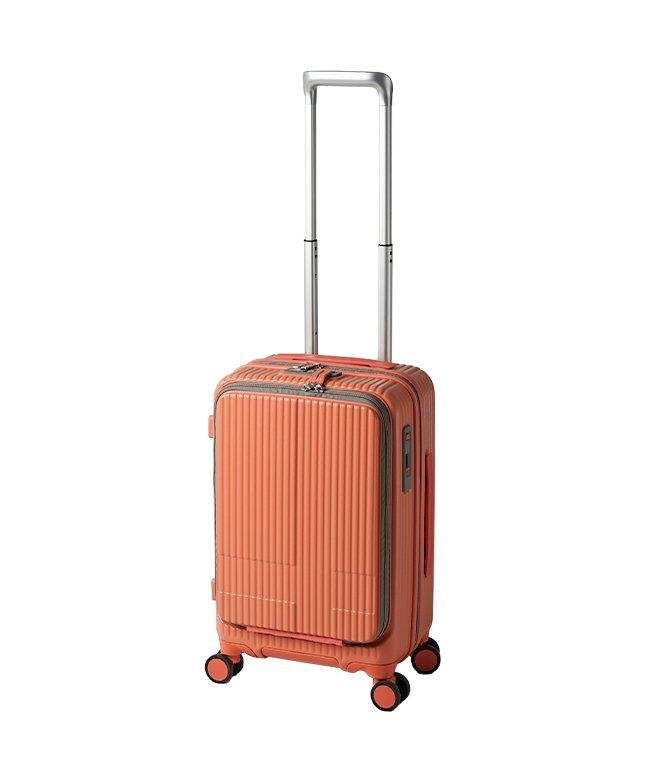 (innovator/イノベーター)【2年保証】イノベーター スーツケース 機内持ち込み Sサイズ 38L フロントオープン 軽量 INNOVATOR INV50−2/ユニセックス オレンジ