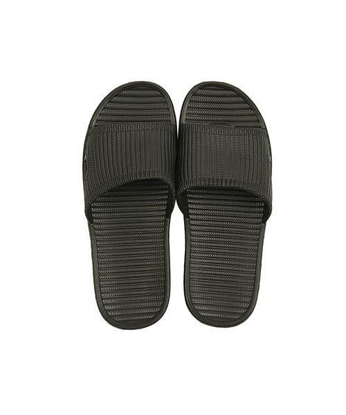 (BACKYARD/バックヤード)シャワースリッパ slipper9150037/メンズ ブラック
