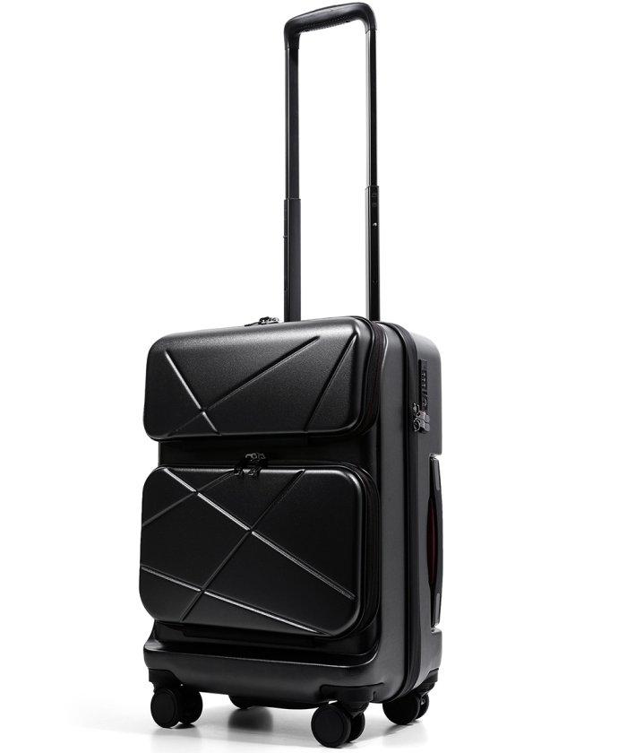 (tavivako/タビバコ)PROEVO AVANT −アヴァン スーツケース 小型 Sサイズ フロントオープン 38? 機内持ち込み 日乃本 ストッパー付き 超静音 8輪キャスター ダイ/ユニセックス ガンメタリック