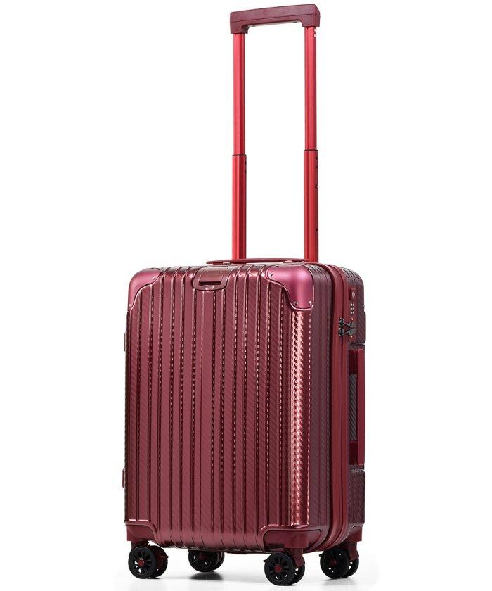 (tavivako/タビバコ)PROEVO スーツケース 小型 Sサイズ 超静音 ストッパー付き ショック吸収サスペンション 8輪キャスター 防水 ダイヤル式TSAロック/ユニセックス ワイン